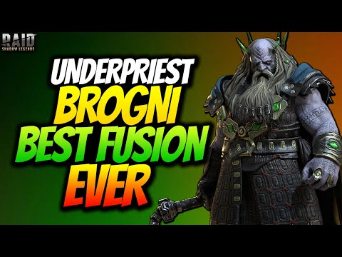 UNDERPRIEST BROGNI IS A MUST DO FUSION! AMAZING EVERYWHERE! FULL CHAMPION REVIEW RAID SHADOW LEGENDS
