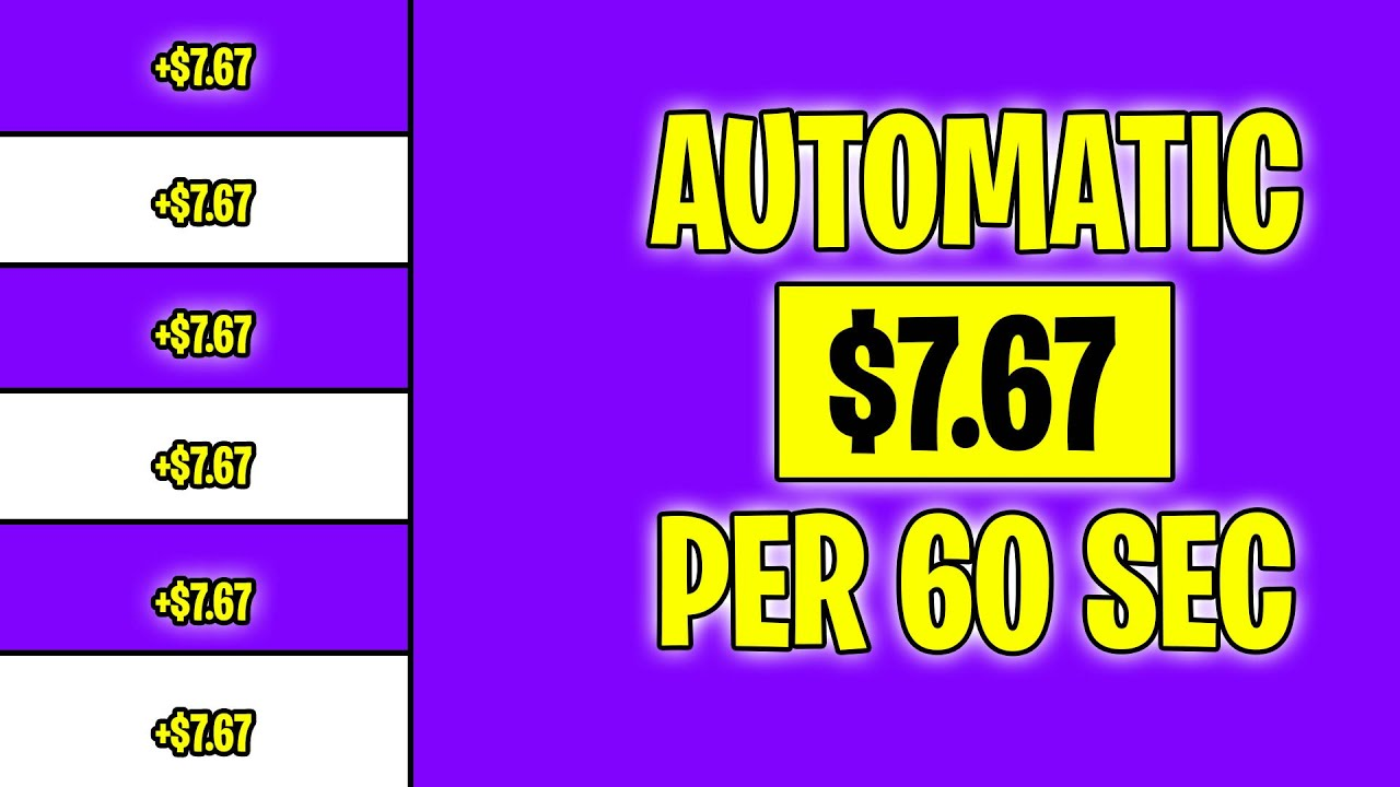 WATCH ADS AND EARN $7.67 EVERY 60 SECONDS (Make Money Online 2021)
