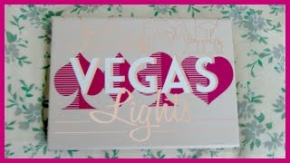 REVIEW ♡ Makeup Geek Vegas Lights Eyeshadow Palette Thumbnail