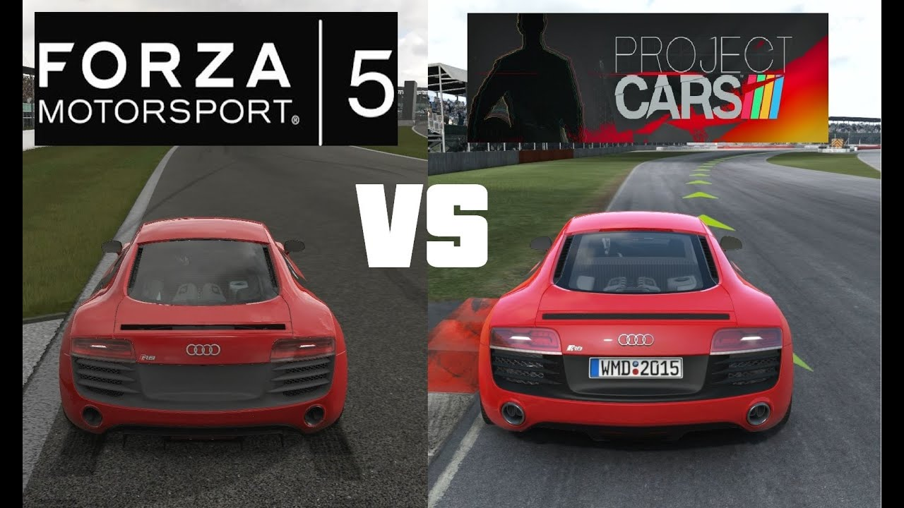 forza motorsport 5 vs project cars head to head youtube. Black Bedroom Furniture Sets. Home Design Ideas