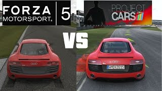 Forza MotorSport 5 vs Project CARS Head to Head