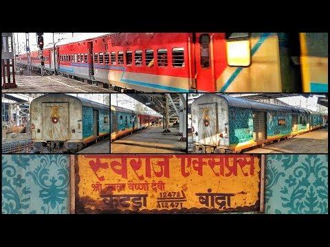 Swaraj In New Avtaar | Ludhiana WAP-4 With 12471 Swaraj Express Arriving at Borivali | Indian train