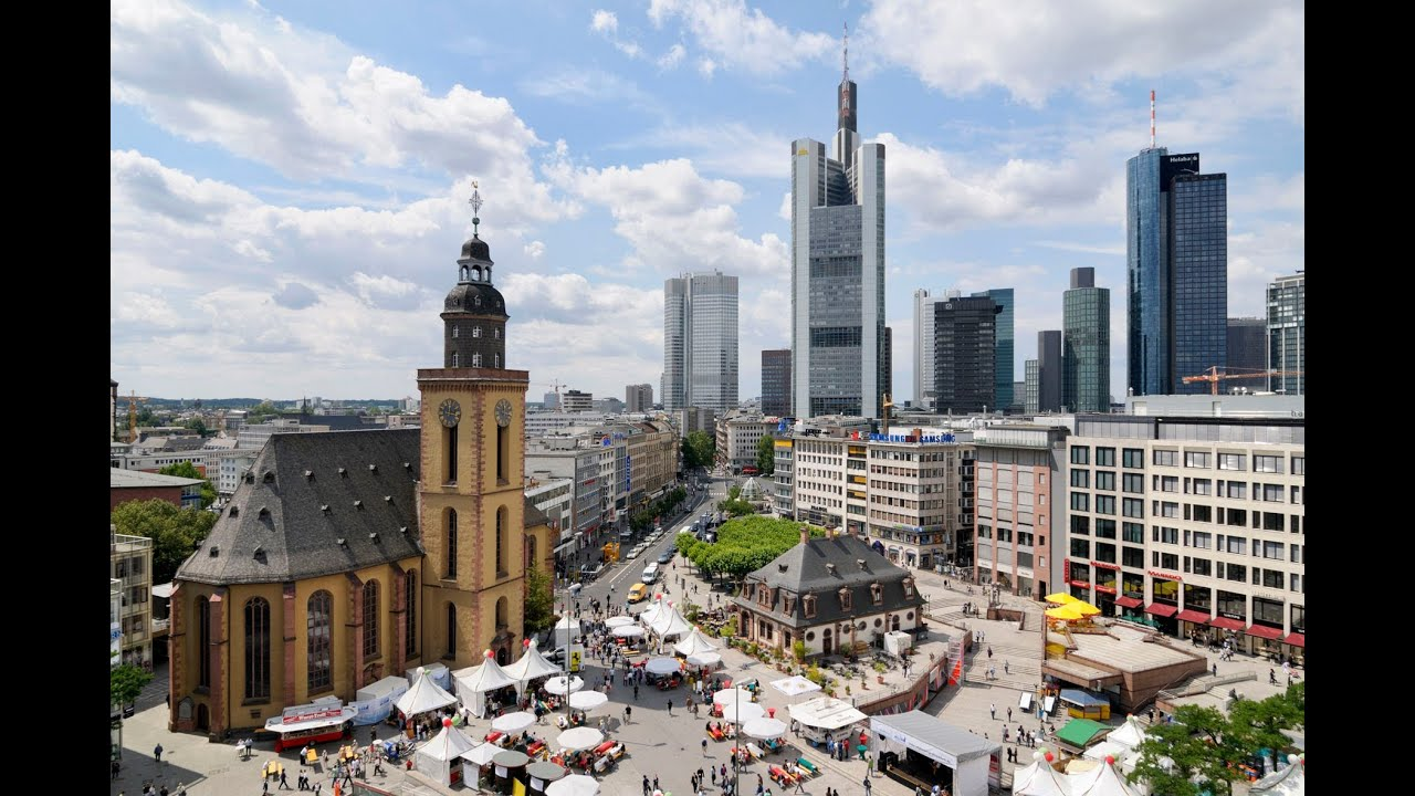 Frankfurt am main city youtube for Innenarchitekt frankfurt am main