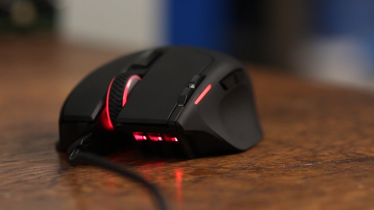 9b583b4f002 Corsair Sabre RGB Gaming Mouse Review - YouTube