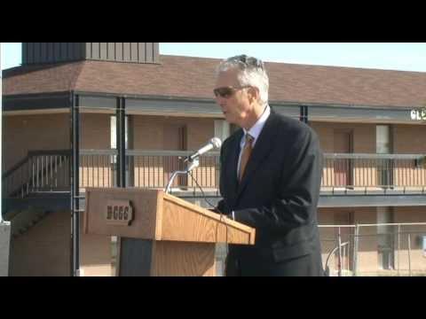 Dodge City Community College #DC3 Men's Hall Groundbreaking Ceremony