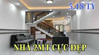 Nhà bán Gò Vấp( 139 )4m x 13m 2 MT hẻm 8m thiết kế 3 lầu rất đẹp tại Phạm Văn Chiêu Gò Vấp 5.18 tỷ