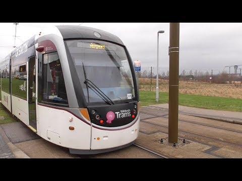 Edinburgh Tram Ride - Princes Street to Ingliston Park and Ride