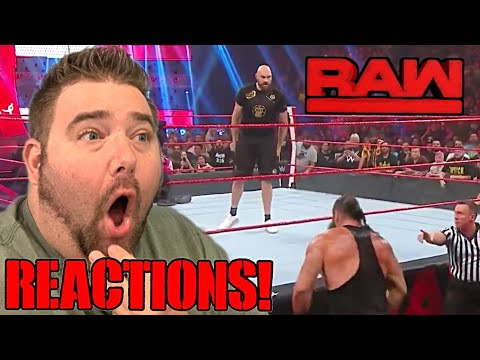 Tyson Fury vs Braun Strowman! WWE RAW REACTIONS RESULTS and REVIEW 10/7/19
