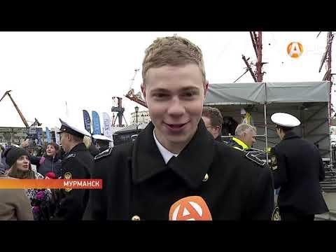 Парусник «Седов» снова пришёл в Мурманск