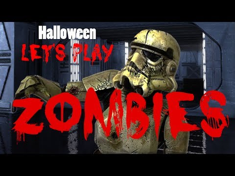 Let's Play - Star Wars Battlefront 2 ZOMBIES (Halloween Special)