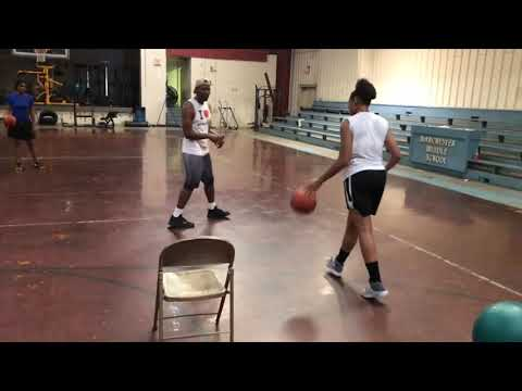 Brittany Davis Preseason Workout With A1Skills