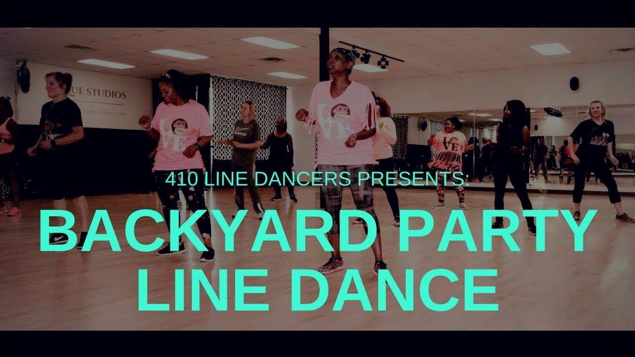 Backyard Party Soul Line Dancing - R. Kelly - Dallas, TX ...