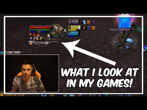 Rank 1 Warcraft Player uses an Eye Tracker!!