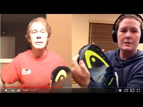 Head Extreme Tour Paddle Review with Sarah Ansboury