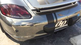 Porsche Silver Surfer Edition Black Ep.13  Avery Black Chrome Vehicle Wrap Cayman S GT3