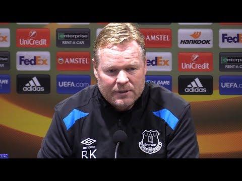 Everton 1-2 Lyon - Ronald Koeman Full Post Match Press Conference - Europa League