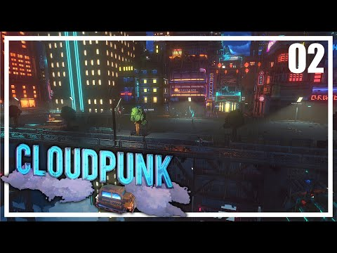 CLOUDPUNK Gameplay Español Ep 2- MI CASA