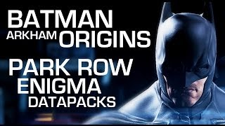 Batman: Arkham Origins Enigma Data Packs - Park Row