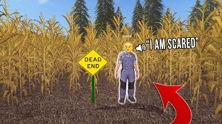 THE SQUAD GETS LOST IN CORN MAZE | FARMING SIMULATOR 2017