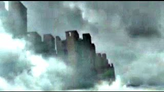 Floating City In Clouds Over China 2015 - Real Live Video Footage