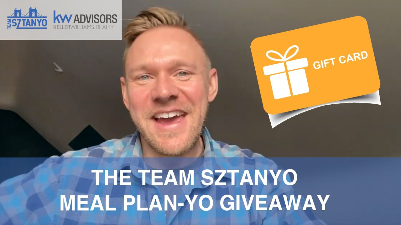 The Team Sztanyo Meal Plan-yo Giveaway