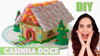 ESPECIAL NATAL #5: DIY CASINHA DE DOCE | Paula Stephânia