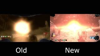 Moon Remastered Vs Old Blowing Up The Earth Easter Egg Cut Scene  Comparison