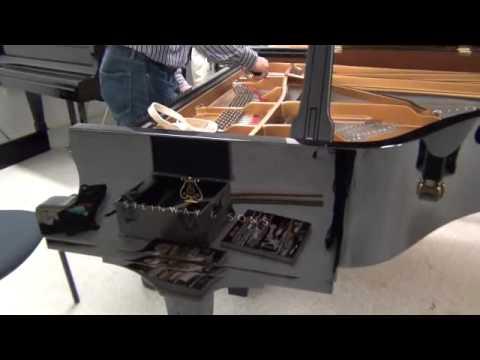 Steinway Model D Tuning