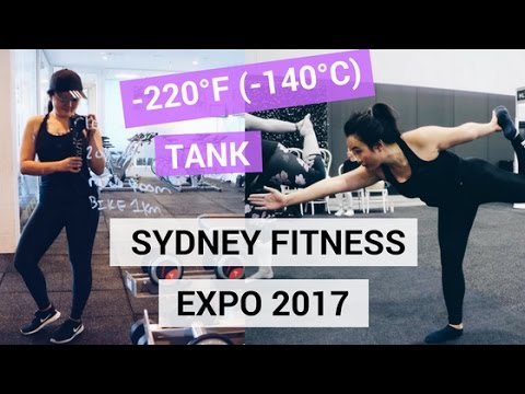 SYDNEY FITNESS EXPO 2017 | CRYOTHERAPY & FLOATING THERAPY IN SYDNEY | ALTITUDE TRAINING