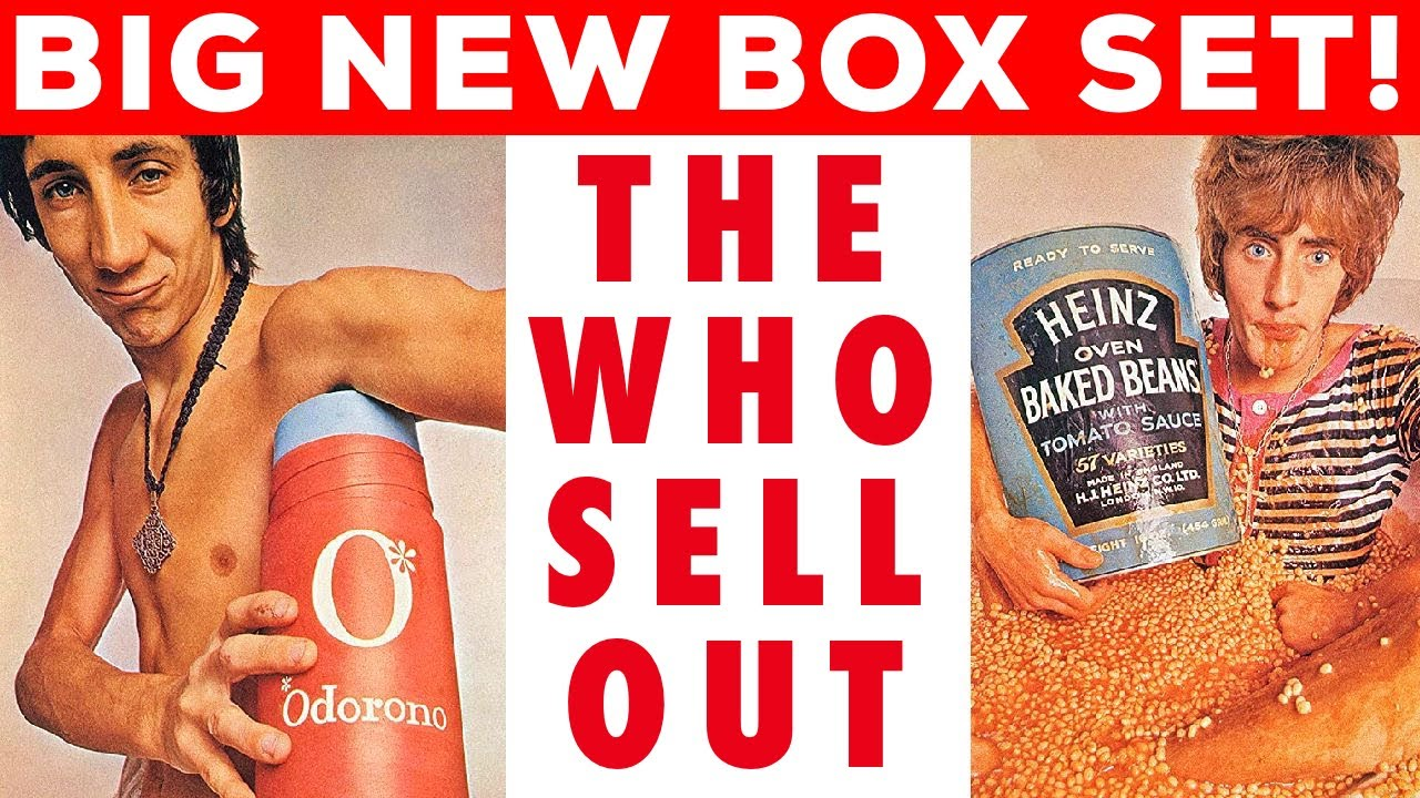 """BIG TIME SELL OUT! """"The Who Sell Out"""" Coming in HUGE New Box Set! - YouTube"""