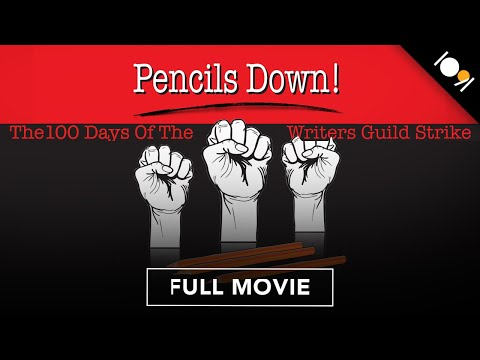 Pencils Down! The 100 Days of the Writers Guild Strike (FULL DOCUMENTARY)