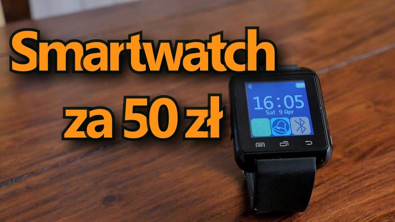 Smartwatch za 50 zł U8 z Aliexpress Giveaway