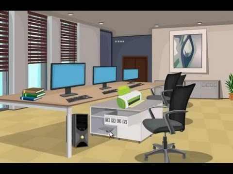 OFFICE FILE ESCAPE GAME WALKTHROUGH - YouTube