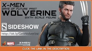 X -Men Days Of Future Past Hot Toys Wolverine Movie Masterpiece 1/6 Scale Collectible Figure Review(Thank You Sideshow Collectibles! Buy This Now At http://bit.ly/GetWolverine Backdrops by http://ToyHax.com I Get My Awesome Shirts at ..., 2015-03-26T04:29:58.000Z)