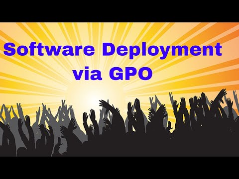 How to published Software via GPO - YouTube