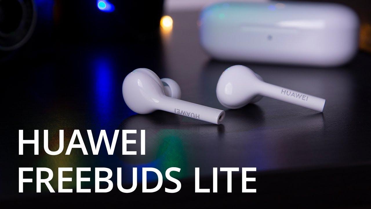 Обзор Huawei FreeBuds Lite