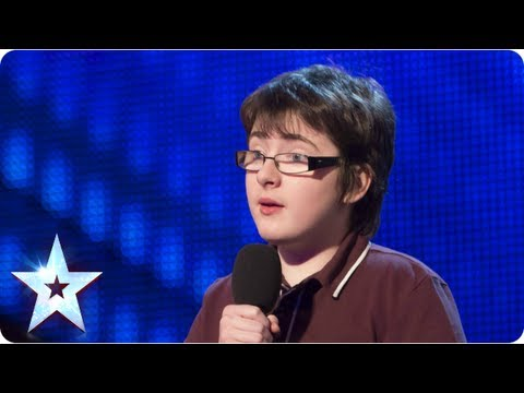 Jack Carroll with his own comedy style - Week 1 Auditions   Britain's Got Talent 2013