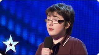 Jack Carroll with his own comedy style - Week 1 Auditions | Britain's Got Talent 2013