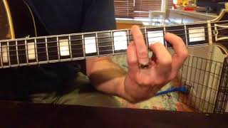 Whits Guitar Journal #12. Moving chords. San Antonio Rose