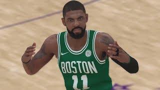 NBA 2K18 Gameplay Kyrie Celtics! Kobe Bryant Kevin Garnett Commentary!
