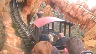 Big Thunder Mountain : On-Ride : Disneyland Park : Paris : Mine Train Rollercoaster : Frontierland