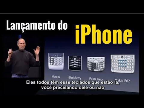 Steve Jobs apresenta primeiro iPhone (2007 - Legendado)