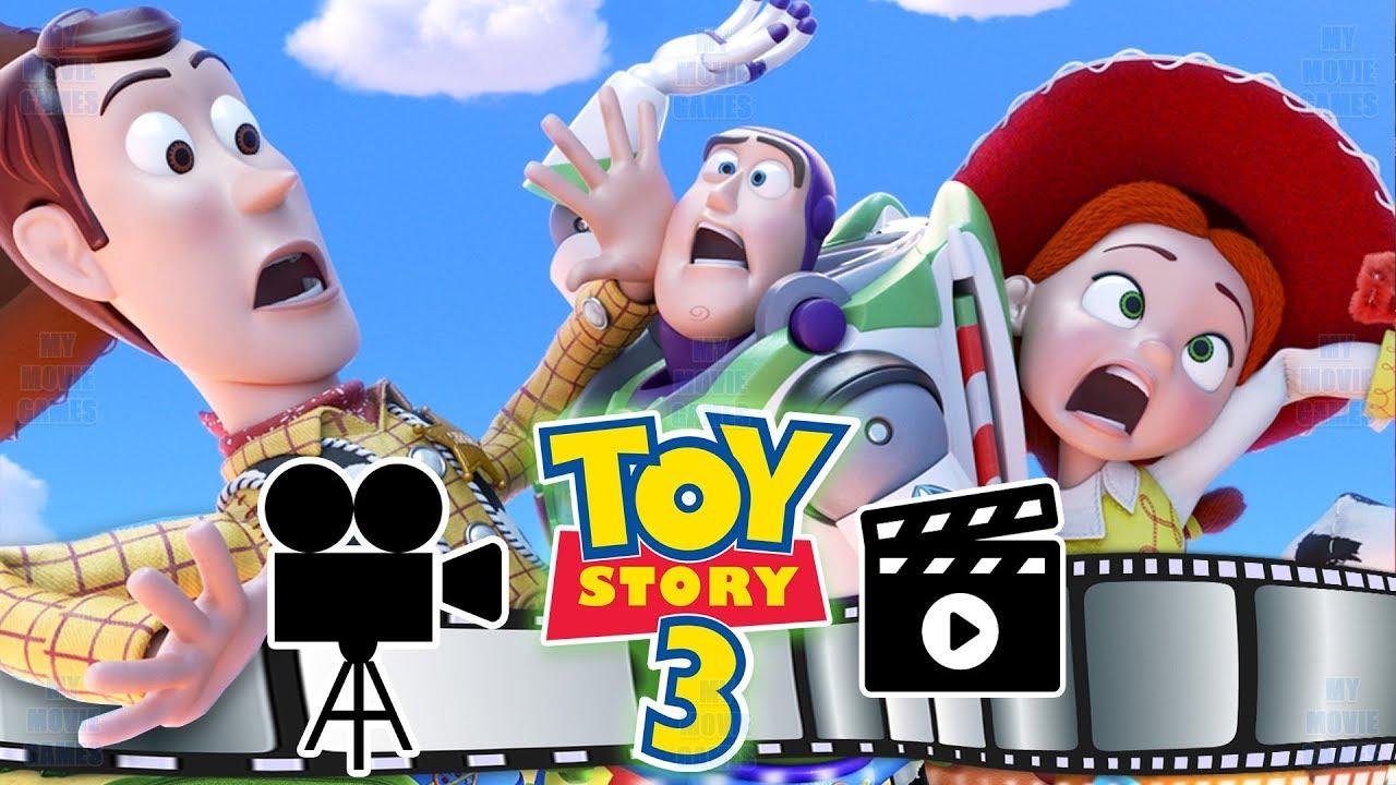 Toy Story 3 ITALIANO FILM COMPLETO VIDEO GIOCHI Un Amico In Me Jessie,Buzz,Woody - Giochi di film