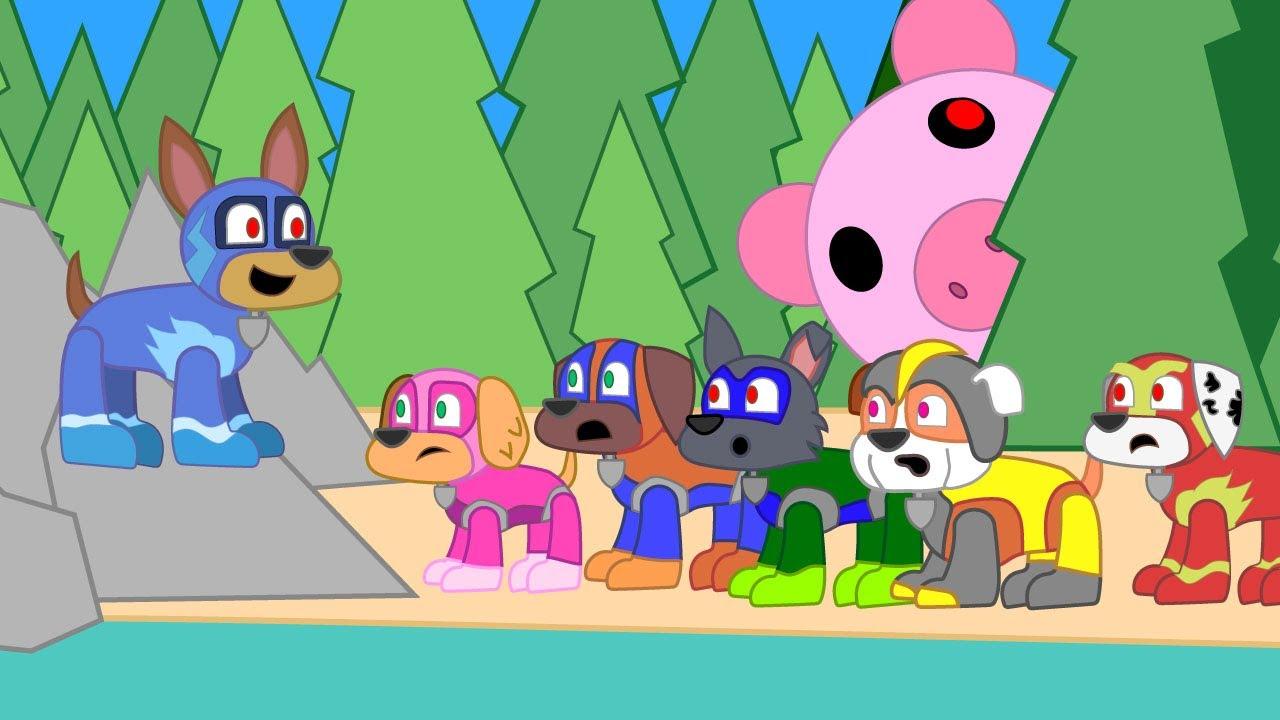 Paw Patrol Pups Iron Giant Piggy Parody Animation Meme