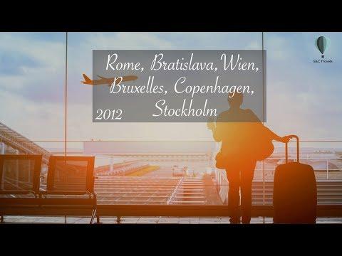 Bratislava, Vienna, Bruxelles, Copenhagen, Stockholm - October 2015 [FullHD 1080p]
