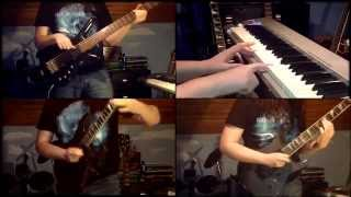 Iron Maiden - Empire of the Clouds (Cover Piano, Guitar, Bass) WITH SOLOS