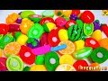 Download Cutting many Fruit and Vegetables plastic Toys Satisfying videos Fun for Kids
