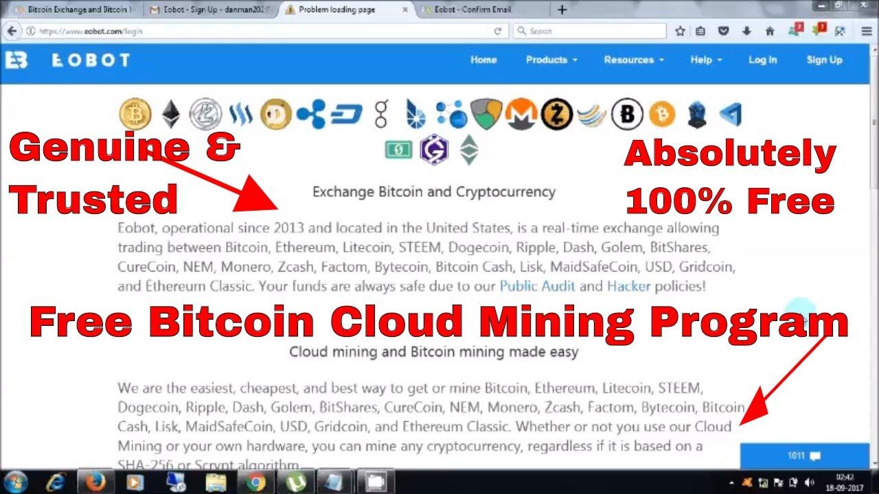 Bitcoin cash free cloud mining