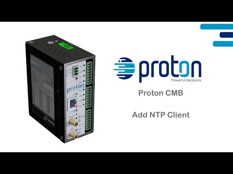 Proton CMB - Add NTP Client