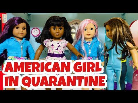 American Girl Dolls In Lockdown!